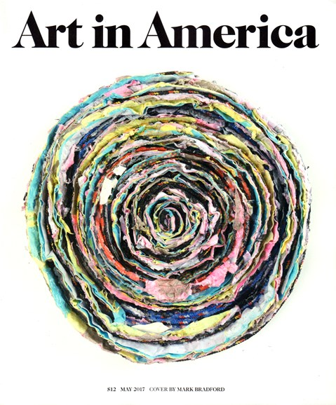 Art In America Cover - 5/1/2017