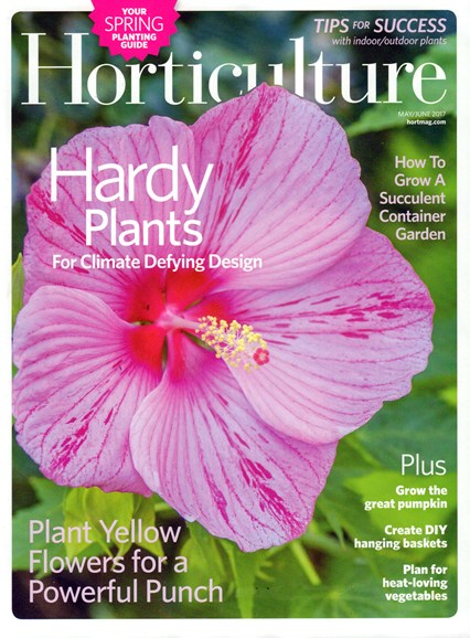 Horticulture Cover - 5/1/2017