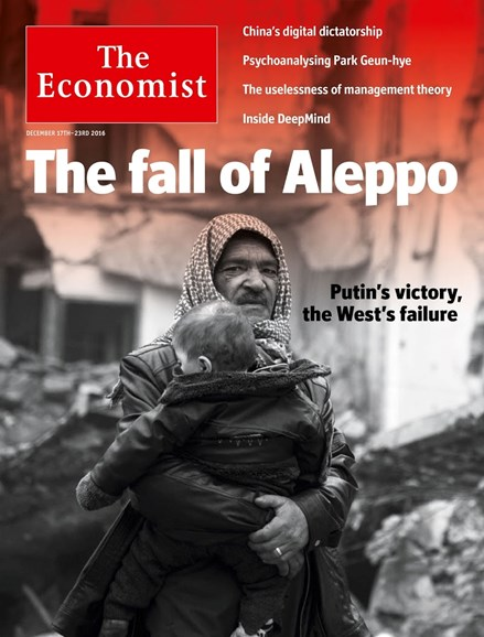 The Economist Cover - 12/17/2016