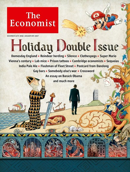 The Economist Cover - 12/24/2016