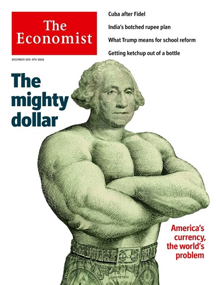 The Economist Cover - 12/3/2016