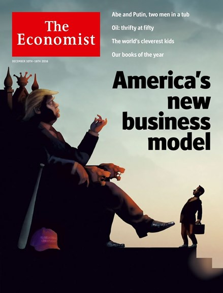 The Economist Cover - 12/10/2016