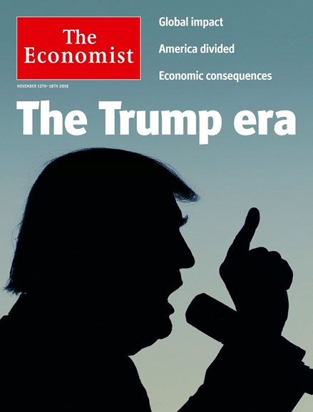 The Economist Cover - 11/12/2016