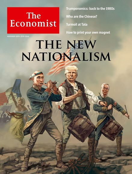 The Economist Cover - 11/19/2016