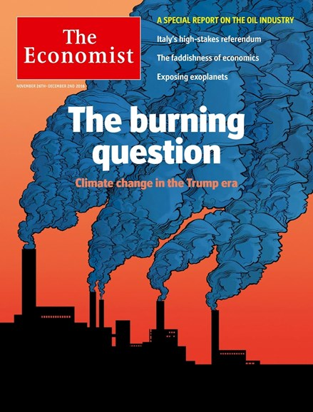 The Economist Cover - 11/26/2016