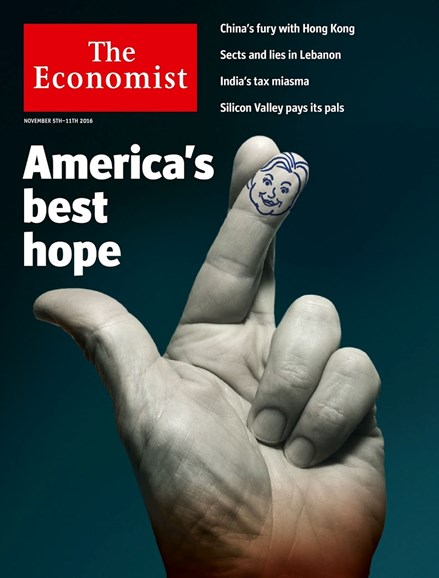 The Economist Cover - 11/5/2016
