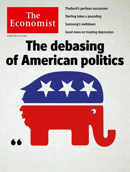 The Economist Cover - 10/15/2016