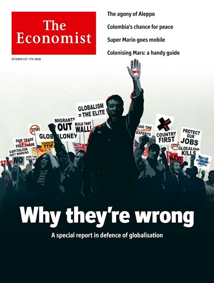 The Economist Cover - 10/1/2016