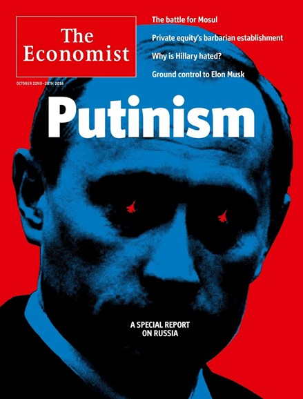 The Economist Cover - 10/22/2016