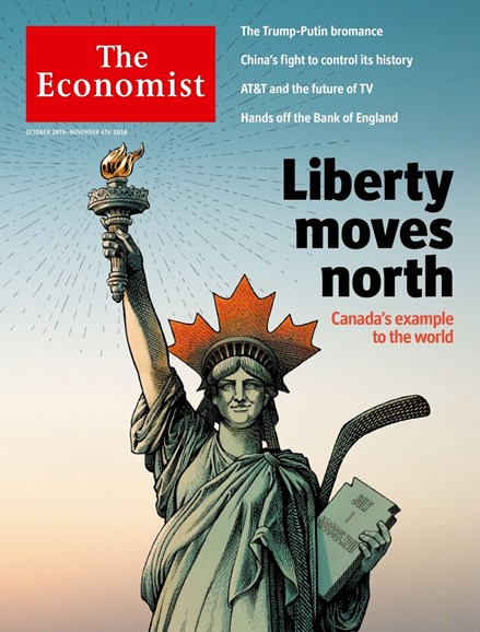 The Economist Cover - 10/29/2016