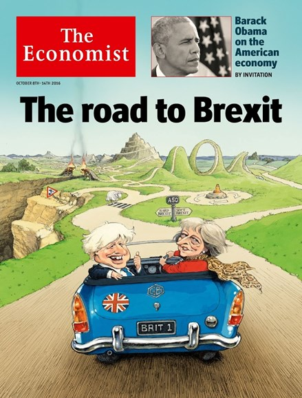 The Economist Cover - 10/8/2016