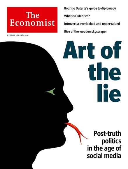 The Economist Cover - 9/10/2016