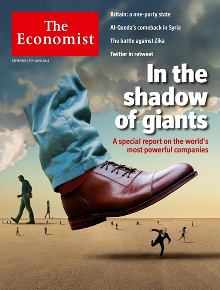The Economist Cover - 9/17/2016