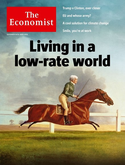 The Economist Cover - 9/24/2016