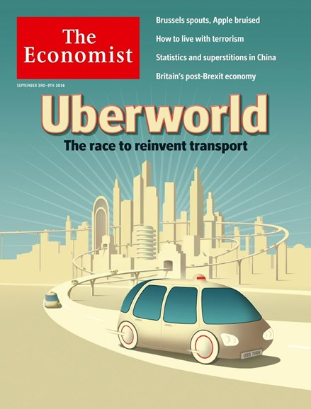 The Economist Cover - 9/3/2016
