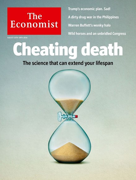 The Economist Cover - 8/13/2016