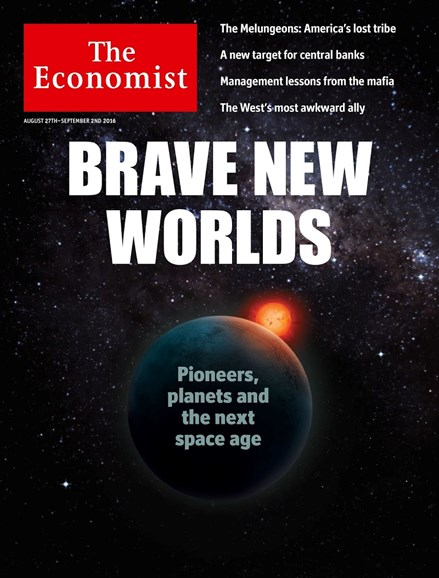 The Economist Cover - 8/27/2016