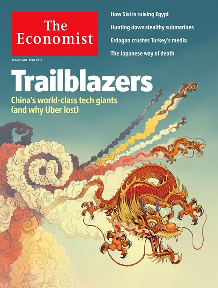 The Economist Cover - 8/6/2016