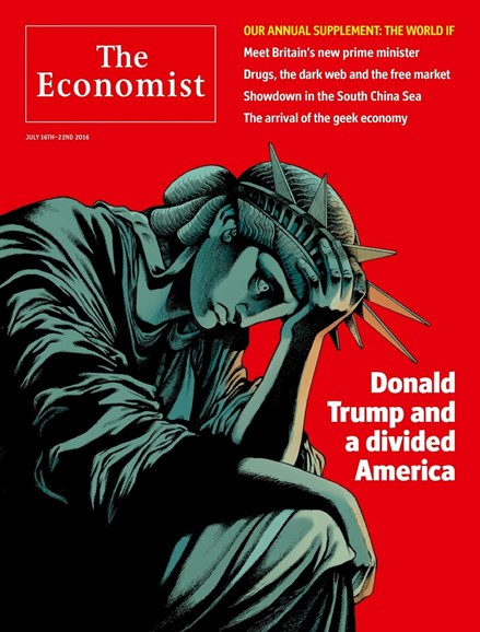 The Economist Cover - 7/16/2016