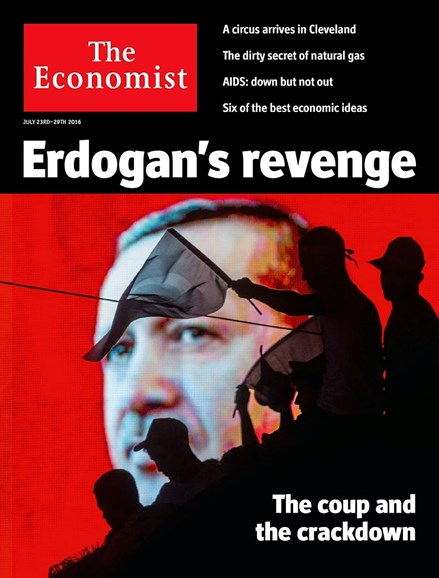 The Economist Cover - 7/23/2016
