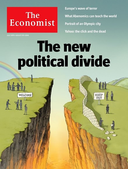 The Economist Cover - 7/30/2016