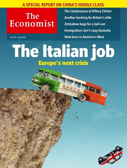The Economist Cover - 7/9/2016
