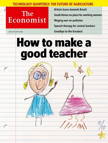 The Economist Cover - 6/11/2016