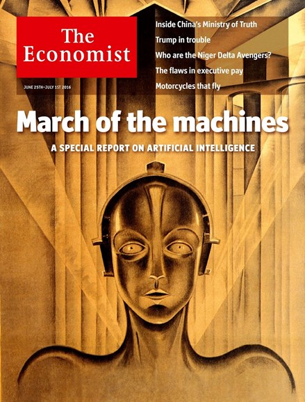 The Economist Cover - 6/25/2016