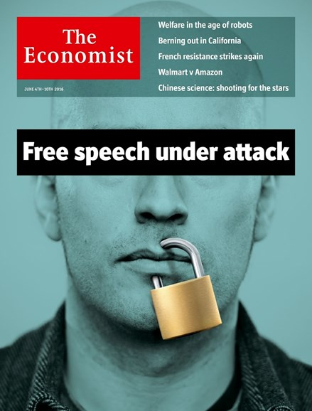 The Economist Cover - 6/4/2016