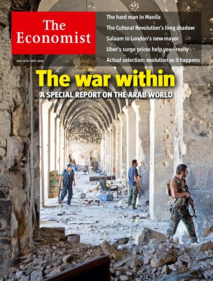 The Economist Cover - 5/14/2016