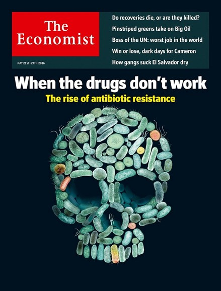 The Economist Cover - 5/21/2016