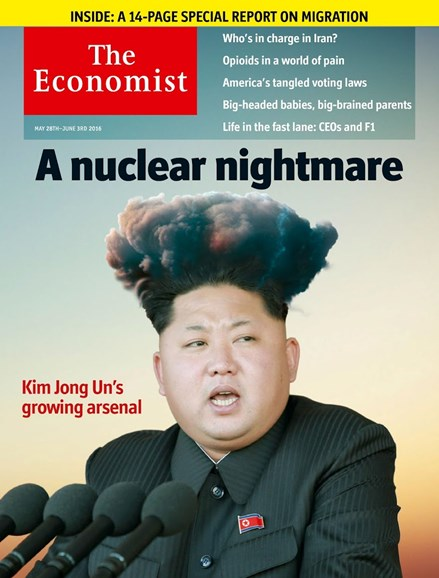 The Economist Cover - 5/28/2016