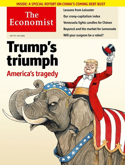 The Economist Cover - 5/7/2016