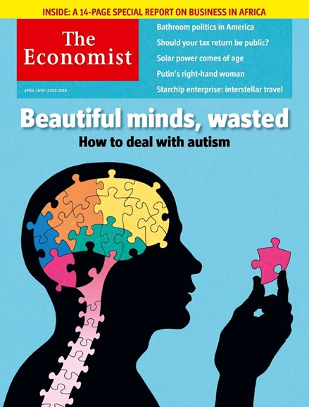 The Economist Cover - 4/16/2016