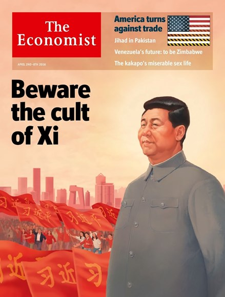 The Economist Cover - 4/2/2016