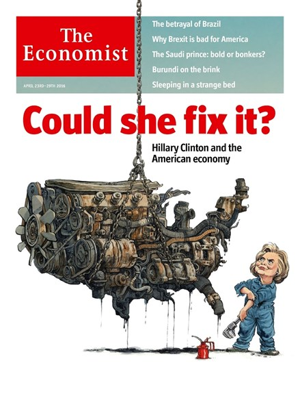 The Economist Cover - 4/23/2016