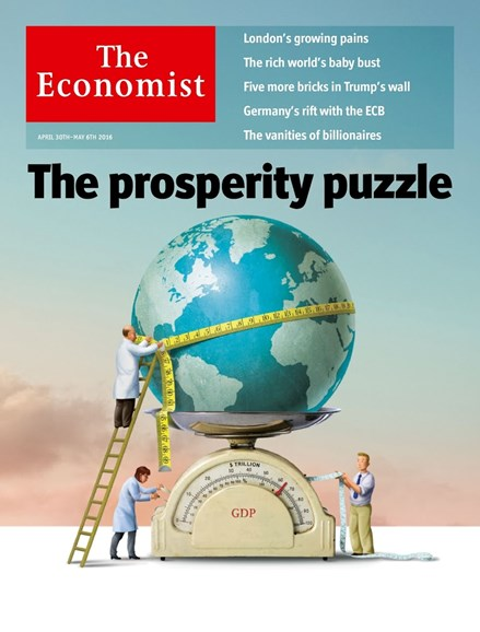 The Economist Cover - 4/30/2016