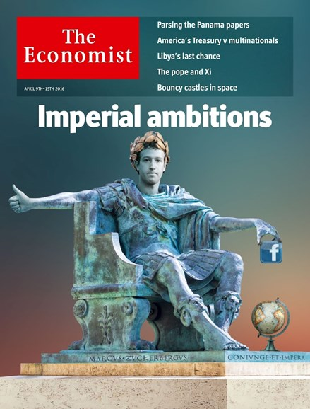 The Economist Cover - 4/9/2016