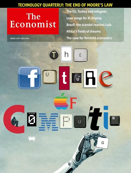 The Economist Cover - 3/12/2016