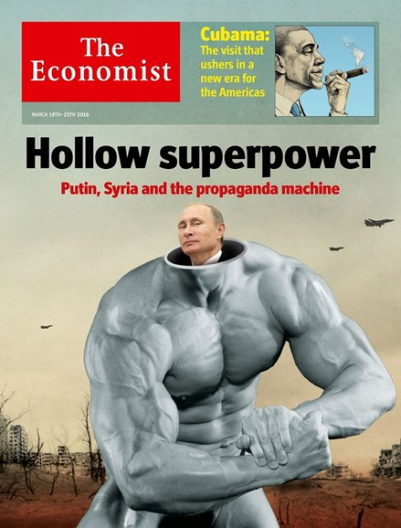 The Economist Cover - 3/19/2016