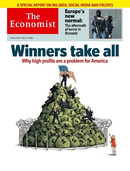 The Economist Cover - 3/26/2016