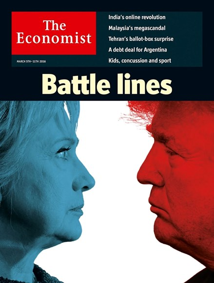 The Economist Cover - 3/5/2016
