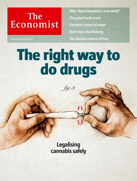The Economist Cover - 2/13/2016