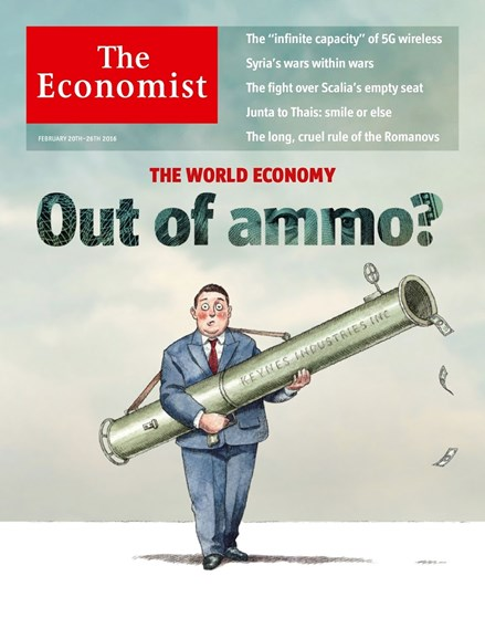 The Economist Cover - 2/20/2016