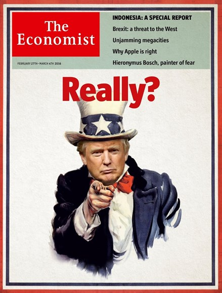 The Economist Cover - 2/27/2016