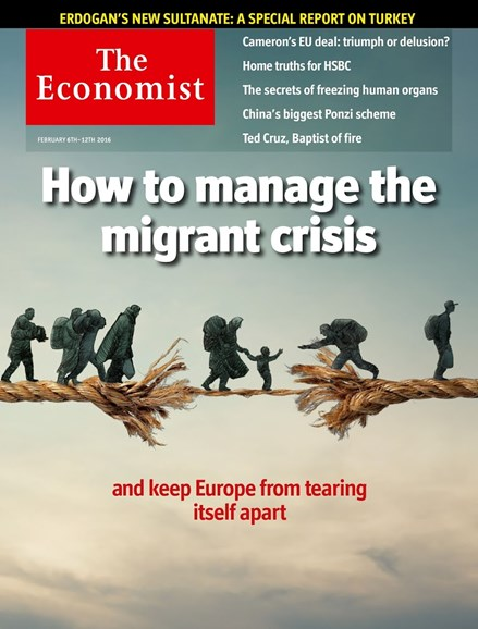 The Economist Cover - 2/6/2016