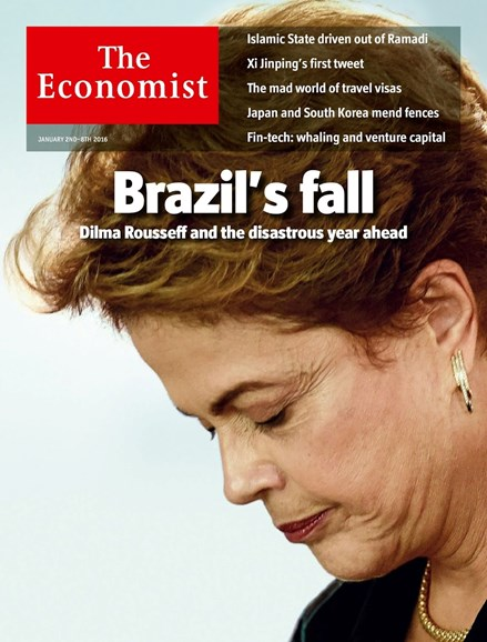 The Economist Cover - 1/2/2016