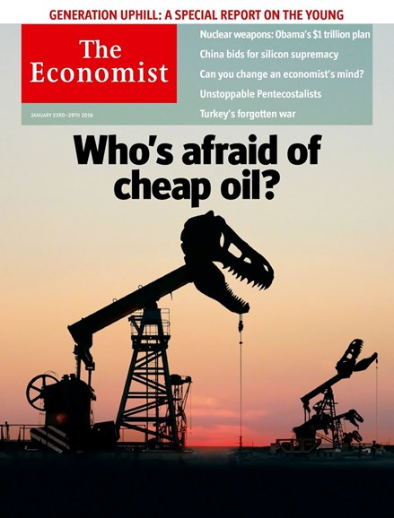 The Economist Cover - 1/23/2016