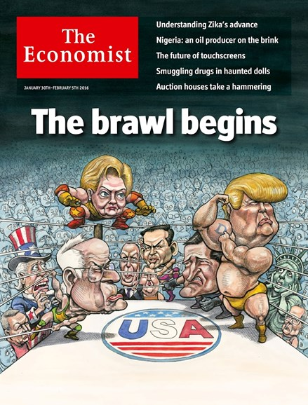 The Economist Cover - 1/30/2016