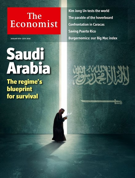 The Economist Cover - 1/9/2016